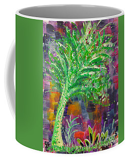 Coffee Mug featuring the painting Celery Tree by Holly Carmichael