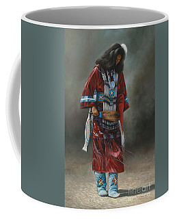 Ceremonial Red Coffee Mug