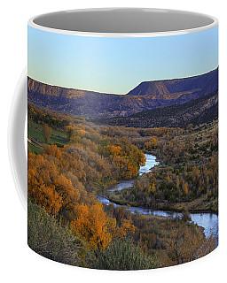 Chama River At Sunset Coffee Mug by Alan Vance Ley