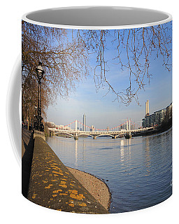 Chelsea Embankment London Uk Coffee Mug