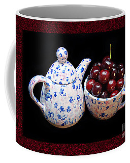 Cherries Invited To Tea 2 Coffee Mug