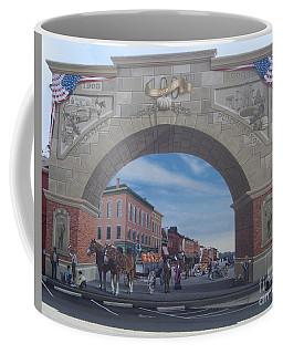 Circleville Pumpkin Show Mural Coffee Mug