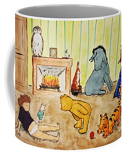 Classic Winnie The Pooh And Friends Coffee Mug