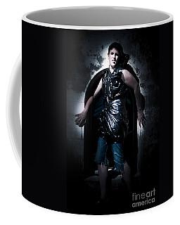 Cleaner Backed Against A Wall Coffee Mug