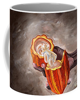 Cocoa Pod In Hand Coffee Mug