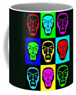 Comedy And Tragedy Coffee Mug by Jane McIlroy