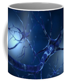 Conceptual Image Of Neuron Coffee Mug