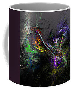 Coffee Mug featuring the digital art Conflict by David Lane