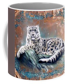 Copper Snow Leopard Coffee Mug