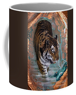 Copper Tiger I  Coffee Mug