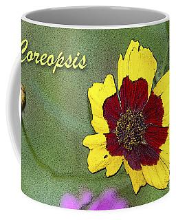 Coreopsis Flower And Buds Coffee Mug by A Gurmankin