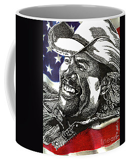 Courtesy Of The Red White And Blue Coffee Mug