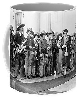 Cowboy Band, 1929 Coffee Mug