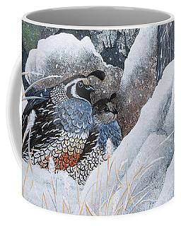 Cozy Couple Coffee Mug by Jennifer Lake