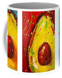 Crazy Avocados Triptych Coffee Mug