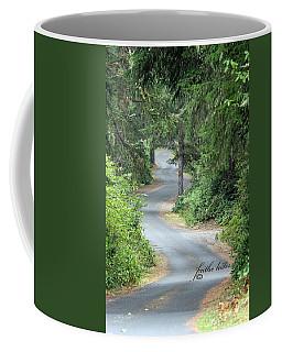 Curves Into Leadbetter Point State Park II Coffee Mug