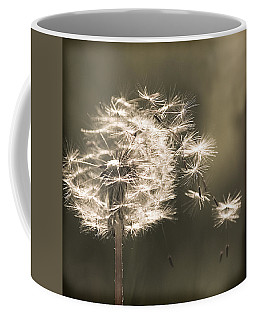 Coffee Mug featuring the photograph Dandelion by Yulia Kazansky