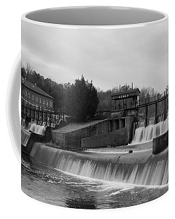 Daniel Pratt Cotton Mill Dam Prattville Alabama Coffee Mug by Charles Beeler