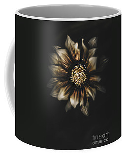 Dark Grave Flower By Tomb In Darkness Coffee Mug