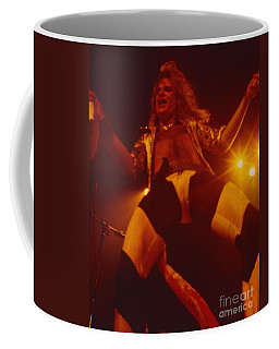 David Lee Roth - Van Halen At The Oakland Coliseum 12-2-1978 Rare Unreleased Coffee Mug