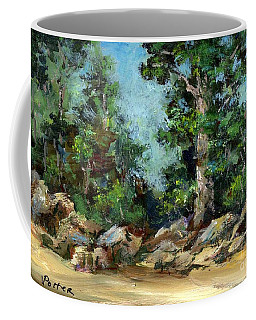 Rocks Along The Road Coffee Mug
