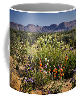 Desert Wildflowers Coffee Mug
