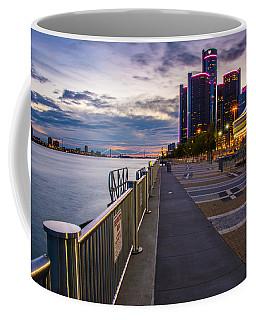 Detroit River Walk Coffee Mug