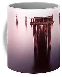 Dock At Twilight Coffee Mug