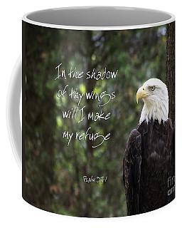 Eagle Scripture Coffee Mug