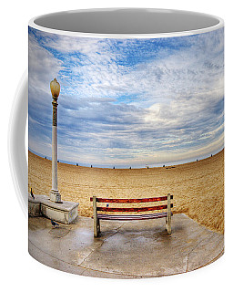 Early Morning At The Beach Coffee Mug