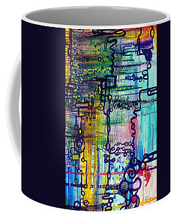 Emergent Order Coffee Mug by Regina Valluzzi