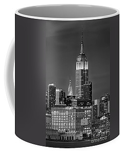 Empire And Chrysler Buildings Coffee Mug