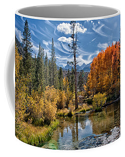 Fall At Bishop Creek Coffee Mug