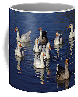 Family Goose Coffee Mug