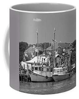 Family Thing - Black And White Coffee Mug by Suzanne Gaff