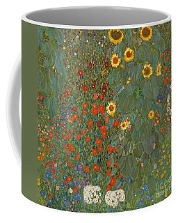 Farm Garden With Sunflowers Coffee Mug