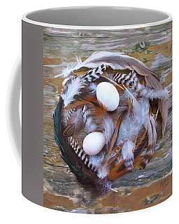 1. Feather Wreath Example Coffee Mug