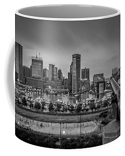 Federal Hill In Baltimore Maryland Coffee Mug by Susan Candelario