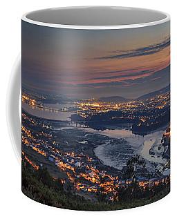 Ferrol's Ria Panorama From Mount Ancos Galicia Spain Coffee Mug