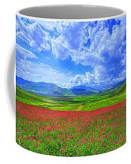 Fields Of Dreams Coffee Mug by Midori Chan