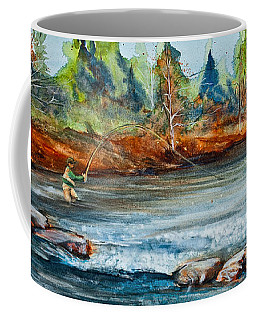 Fish On Coffee Mug