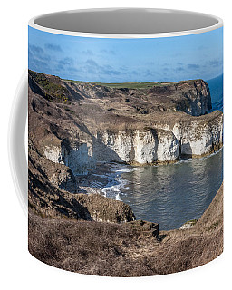 Coffee Mug featuring the photograph Flamborough Head by Susan Leonard