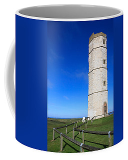 Coffee Mug featuring the photograph Flamborough Old Lighthouse by Susan Leonard