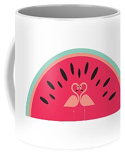 Flamingo Watermelon Coffee Mug