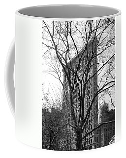 Flat Iron Tree Coffee Mug