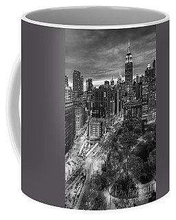 Flatiron District Birds Eye View Coffee Mug by Susan Candelario