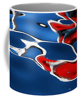 Floating On Blue 5 Coffee Mug