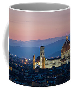 Florence At Sunset Coffee Mug
