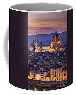 Coffee Mug featuring the photograph Florence Duomo by Brian Jannsen