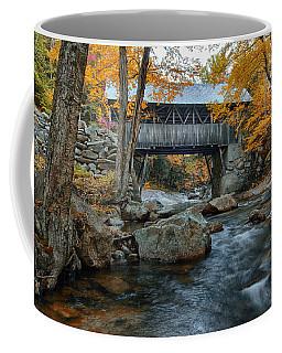 Flume Gorge Covered Bridge Coffee Mug by Jeff Folger
